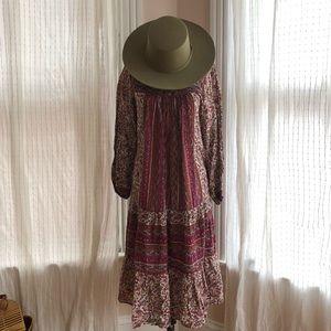 Dresses & Skirts - VINTAGE Indian cotton dress